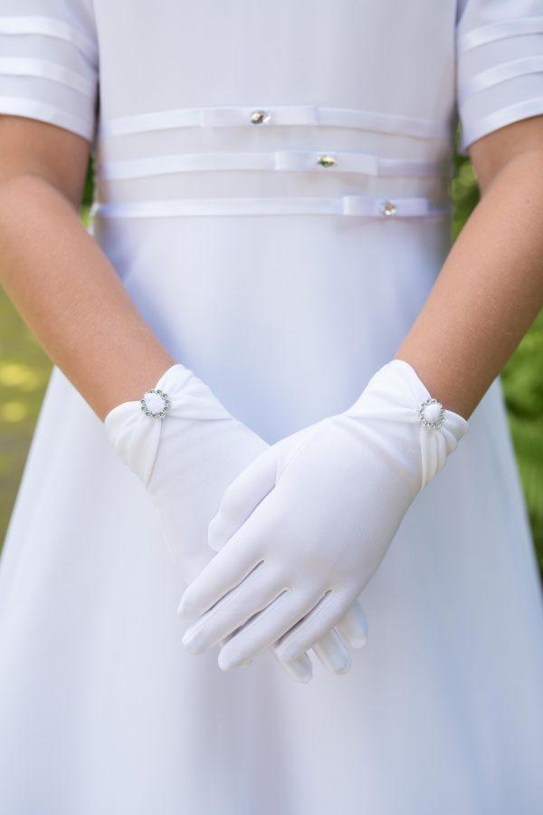 rękawiczki do komunii