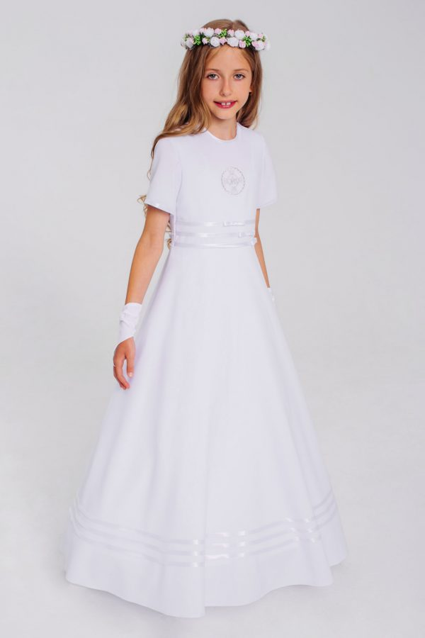 suknia do I Komunii Świętej